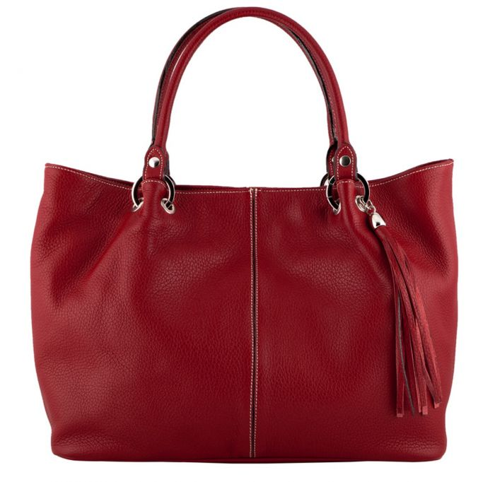 60e143fcc2ca Details. Amber Leather Handbag ...