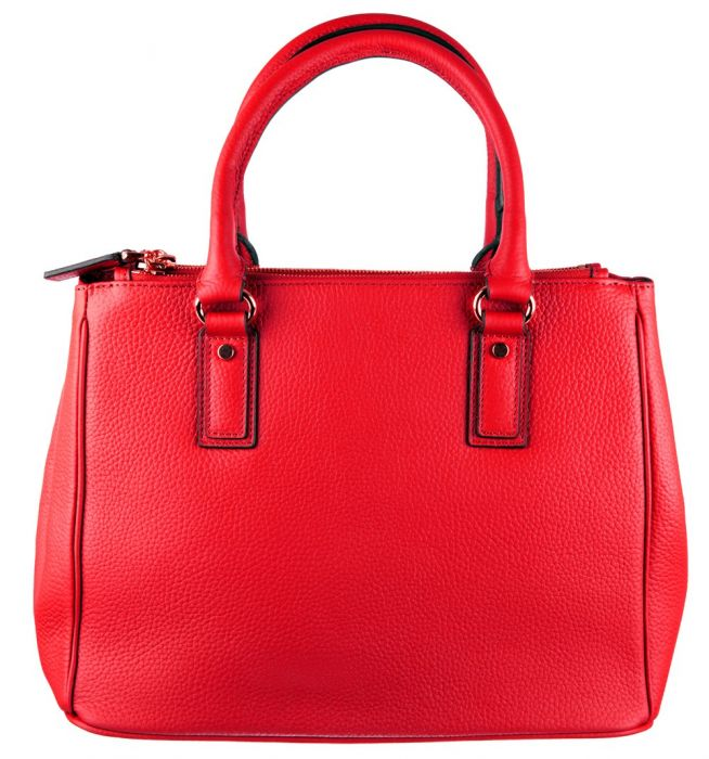 81b6ca8db9c5 Pamela Red Leather Handbag