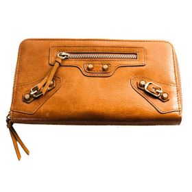 Brandy Wallet Tan