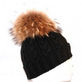 Fur Hat Back Natural