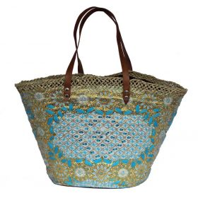 French Basket Blue