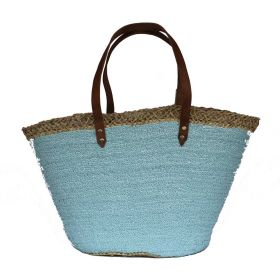 French Basket Sequins Blue