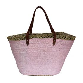 French Basket Sequins Pink