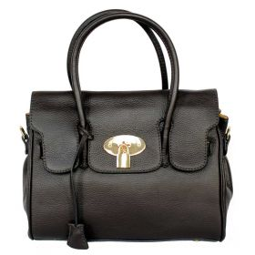 Emily M Brown Leather Handbag