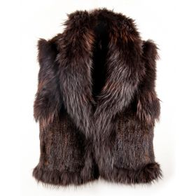 Mink Gilet Brown