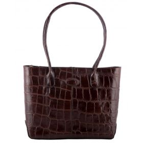 Molly Brown Croco Hand Held Bag
