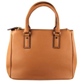 Pamela Tan Leather Handbag