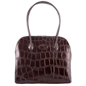 Paris Brown Croco Bag