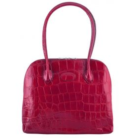 Paris Red Croco Handbag