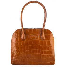 Paris Tan Croco Bag