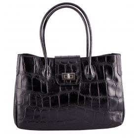 Rachael Black Croco Bag
