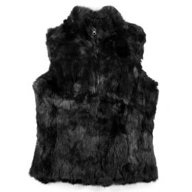 Sienna Black Gilet Fur