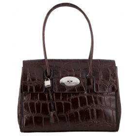 Tara Brown Croco Leather Bag