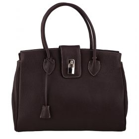 Chelsea Brown Leather Bag