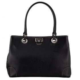 City Black Leather bag
