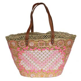 French Basket Pink