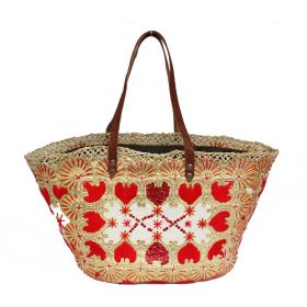 French Basket Red