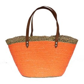 French Basket Sequins Orange