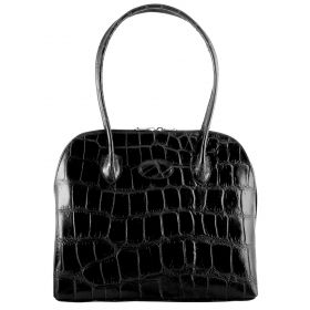Paris Black Croco Bag