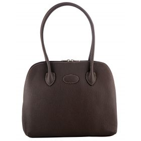 Paris Brown Leather Bag