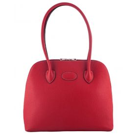Paris Red Leather Handbag