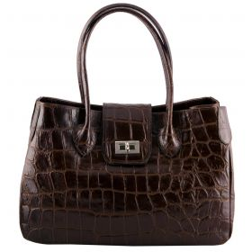 Rachael Brown Croco Bag