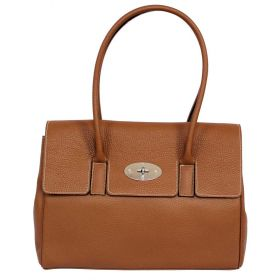 Tara Tan Leather Handbag